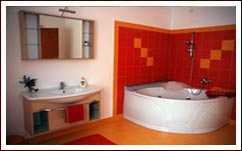 Il bagno del Bed and Breakfast