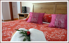 La camera del Bed & Breakfast MarcoLaura