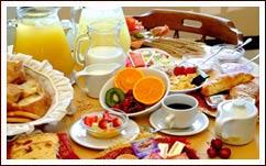 La colazione al Bed and Breakfast MarcoLaura
